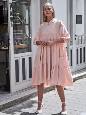 Oversized Nina Floor Dress